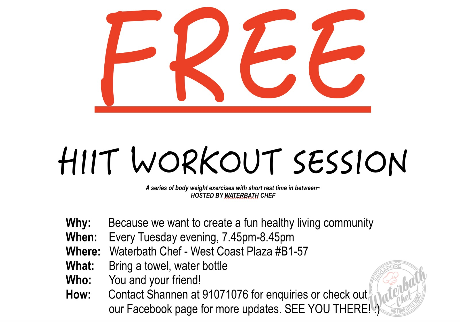 Free HIIT Session